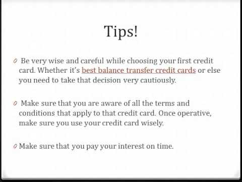 Great Credit Cards Tips For Col Students