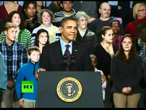 OWS protesters interrupt Obama's speech
