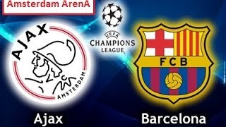 Ajax Amsterdam - FC Barcelone [PES 2014] | C1 League (Groupe H - 5ème Journée) | CPU Vs. CPU