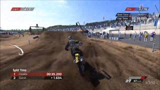 MXGP - The Official Motocross Videogame - Lausitzring Germany Gameplay [HD]