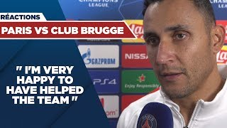 VIDEO: POST GAME INTERVIEWS : PARIS SAINT-GERMAIN vs CLUB BRUGGE