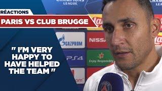 VIDEO: POST GAME INTERVIEWS : PARIS SAINT-GERMAIN vs CLUB BRUGGE
