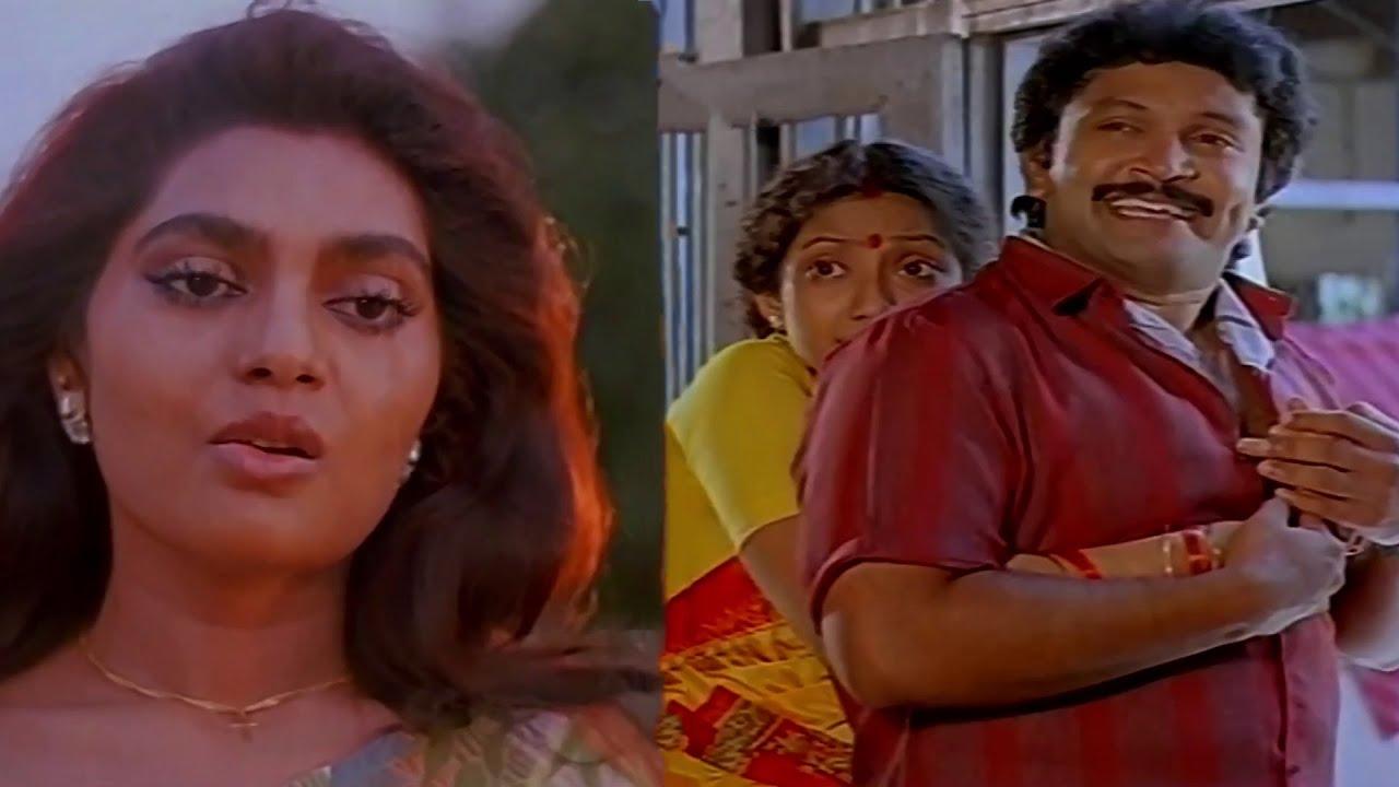 #SilkSmitha #Prabhu #Kanaka Thalattu Ketkuthamma Movie Scenes   Goundamani , Senthil , Vadivukkarasi