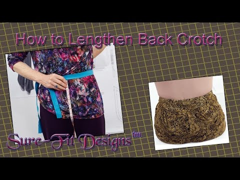 How-To: 5 Ways to Lengthen Pants Back Crotch