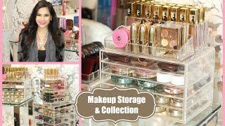 Vanity Tour Makeup Collection And Storage Organization  2015 - Misslizheart
