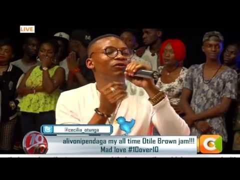 Otile Brown opens up on 10 over 10  interview