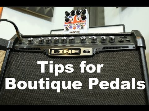 Tweaking a Line 6 Spider amp to work with guitar pedals
