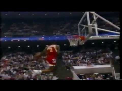 Stacey Augmon - 1992 NBA Slam Dunk Contest