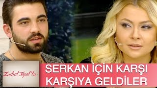 Zuhal Topal'la 77. Bölüm (HD) | İki Yakın Arkadaş Serkan için Karşı Karşıya Geldi!