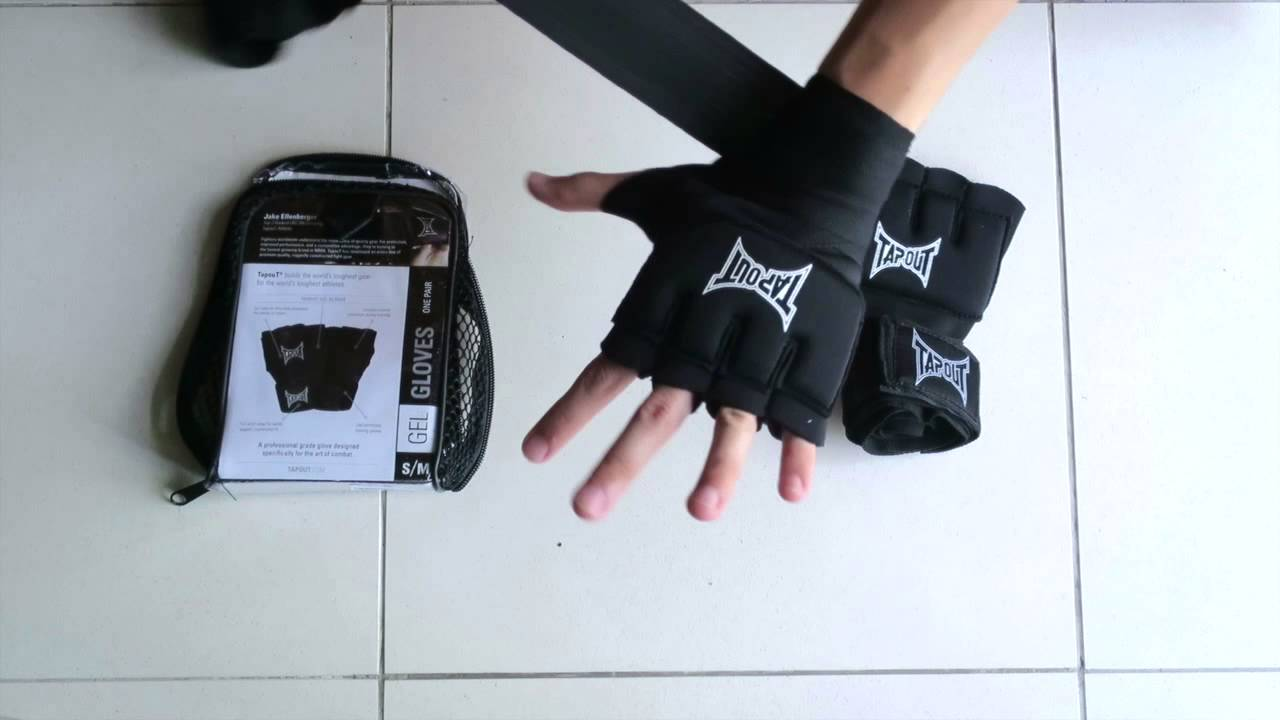 Hand Wrap Gloves Tapout Gel Handwraps Review By Reign Mma Depot Youtube