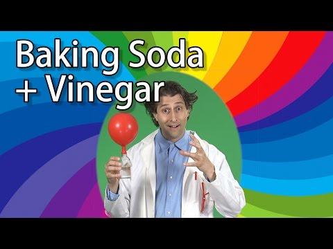 Vinegar + Baking Soda + Balloons = FIZZY FUN!   Kids Science Experiments   Science for Kids