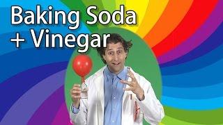 Vinegar + Baking Soda + Balloons = FIZZY FUN! | Kids Science Experiments | Science for Kids