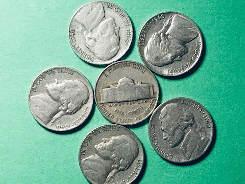 US 1940 Nickels - 5 Cents Collection