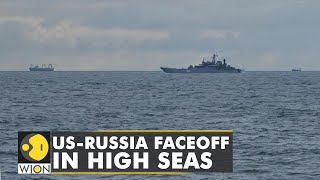 Tense faceoff during Russian-Chinese war games in sea of Japan | US Navy Destroyer