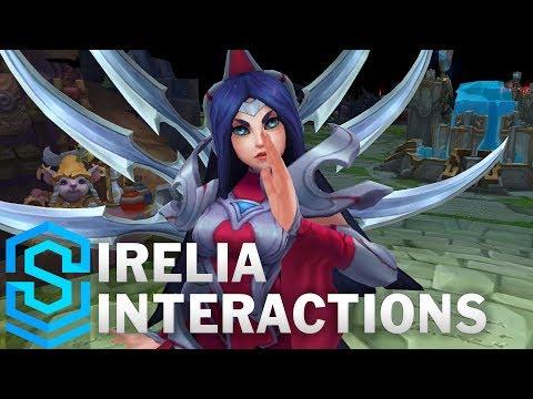 Irelia Special Interactions