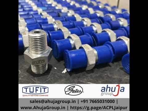 We do what we Love. We Love what you do!  We manufacture TUFIT Leak-free Hydraulic Tube and Hose Fittings, CNG Fittings, Instrumentation Fittings in StainlessSteel, and Carbon Steel. We have an over 80% customer retention rate because we have helped over 1000 companies, across 40 cities around the world to achieve Zero Leakages in their Hydraulic System!  Now you can benefit from our experience of 50 years in the Fluid Conveyance industry, as well!  We are pleased to invite you for a tour of our ISO 9001-2015 certified plant, measuring 10,000 square meters, which has recently been inaugurated by Shri. Murali CR, Plant Head, @Bosch Ltd.  sales@ahujagroup.in |+91 7665031000 | www.AhujaGroup.in| https://g.page/ACPLJaipur