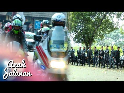 Mantap Club AJ Di Kawal Polisi [Anak Jalanan] [27 April 2016]