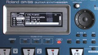 Roland GR-55 Guitar Synthesizer : Piano Sounds