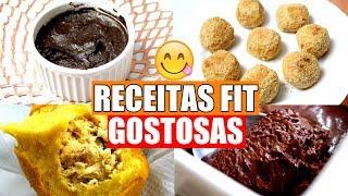RECEITAS FITNESS PARA HORA DO LANCHE / DOCE E SALGADA