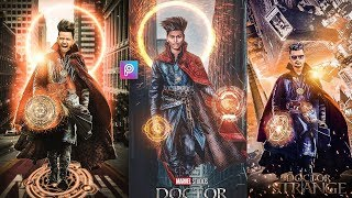 PicsArt Doctor Strange Photo Editing Tutorial in picsart Step by Step in Hindi - Taukeer Editz