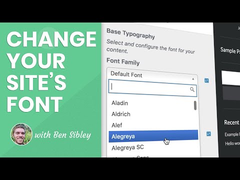 How To Change Your Font In WordPress - This Method Really Works!