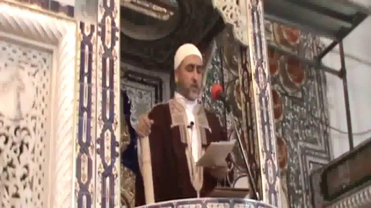 خطبة الجمعة 2015/07/03 الموافق ل 16 رمضان 1436: شهر رمضان عزم على الرحيل ولم يبقى منه إلا القليل