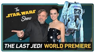 The Last Jedi Cast Answers YOUR Questions, Behind the Scenes of the Red Carpet Live Stream, & More!