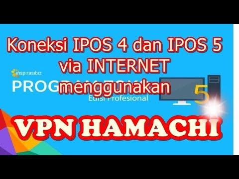 Koneksi IPOS 4 Dan IPOS 5 Via Internet Menggunakan VPN Hamachi