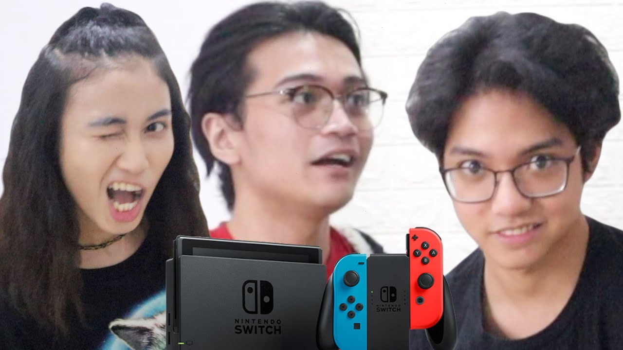 surprising our bestfriend with NINTENDO SWITCH!