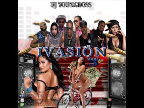 2016 INVASION DANCEHALL Hottest Mix Alkaline, Dexta dapps, Bounty, Kartel, Popcaan,(Dj young boss)
