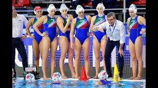 Italy vs Israel - Highlights - Waterpolo Women Olympic Qualification