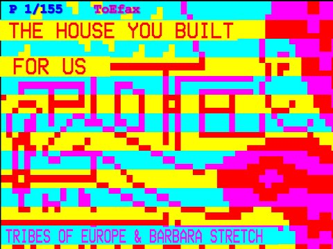 Tribes Of Europe & Barbara Stretch - The House You Built For Us