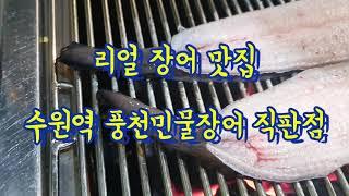 수원역 장어 맛집 | 풍천 민물 장어 직판장 / 가성비…