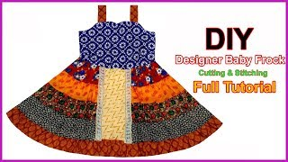 A Beautiful Assortment of Styles Baby Frock Design Cutting & Stitching Full Tutorial for Easy Way