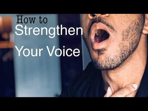 How to Deepen and Strengthen your Voice! (Speak with Confidence!!)