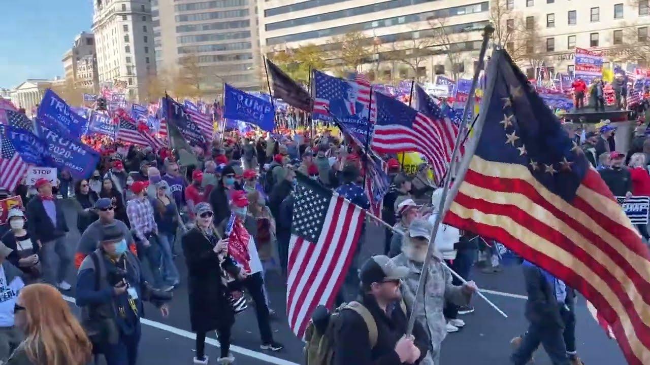 Million MAGA March - Trump Supporters, DC