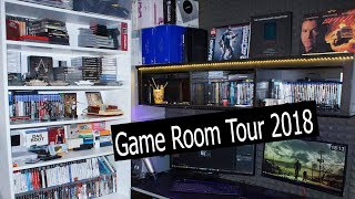 Game Room Tour 2018 Oleg Kerman