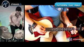 Tus Latidos CALIBRE 50 Acustico Cover Guitarra Turotial Christianvib