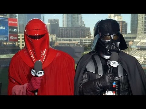 ARI@SD: Padres host Star Wars night at Petco Park