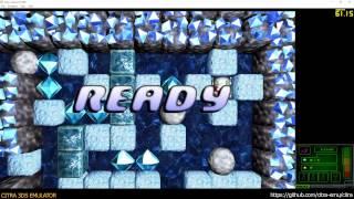 Citra 3DS Emulator - Boulder Dash XL 3D ingame 1080p
