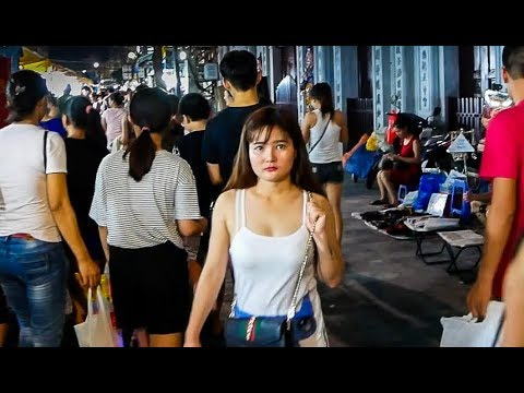Hanoi Night Market - Vietnam 2017 HD