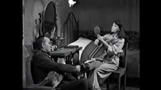 """""""Der Arzt von Stalingrad"""" - Russia gets the girl - Hannes Messemer, Eva Bartok, Walther Reyer"""