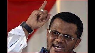 Former Mombasa Senator Hassan Omar's full speech against Raila Odinga, Kalonzo Musyoka and Joho