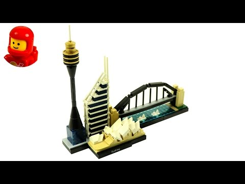 Lego Architecture 21032 Sydney Lego Speed Build