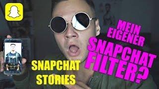 Mein eigener Snap Filter... genau | Snapchat Stories | inscope21