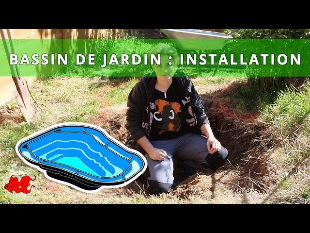 Bassin de jardin - Introduction - YouTube