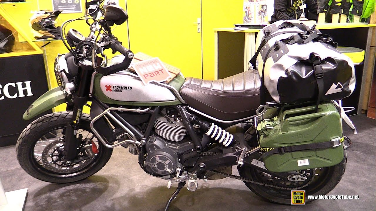 2016 Ducati Scrambler Customized by Touratech Walkaround