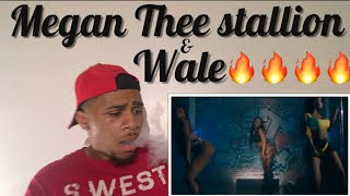 Megan Thee stallion ft wale-pole Dancer Official Music Video (Reaction)