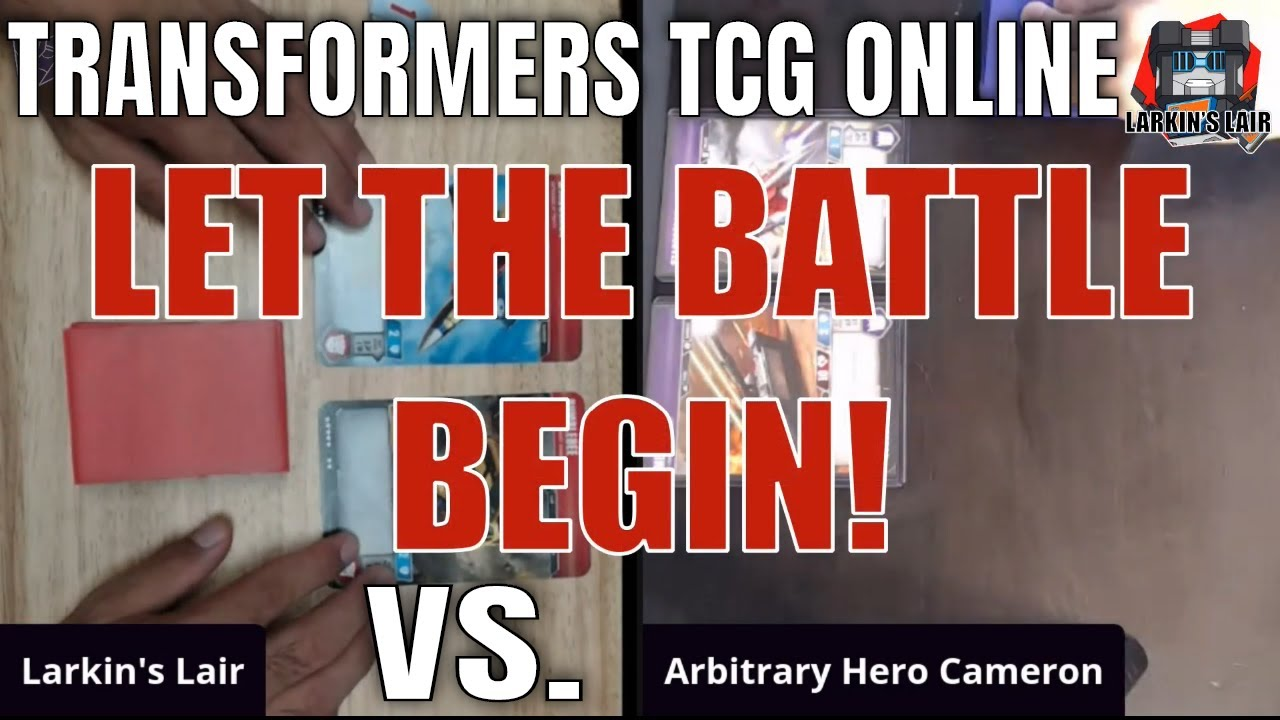 Socially Distant: Learning How to Play the Transformers TCG with Arbitrary Hero, Larkins Lair