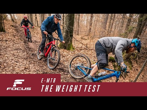 E-MTB Test 1/4: How Does Weight Influence My Reach?
